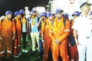 All 22 of merchant vessel crew rescued and homebound