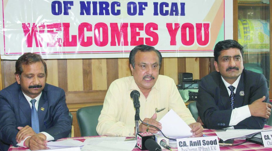 North India Regional Council of The Institute of Chartered Accountants of India.