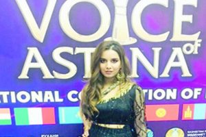 Meerut woman brings laurels by singing at music event in Astana