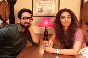 Ayushmann Khurrana and Radhika Apte unveil the title of their next film