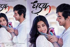 Dhadak poster: Jahnvi Kapoor, Ishaan Khatter are here to steal hearts