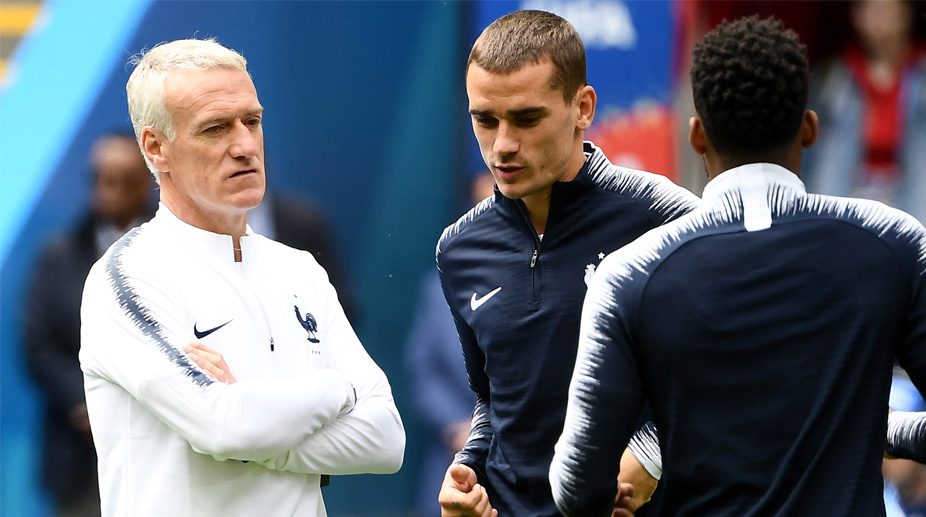 Didier Deschamps, Antoine Griezmann, France Football, 2018 FIFA World Cup, FIFA World Cup 2018