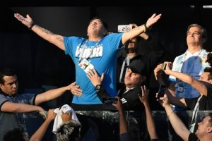 I'm fine: Maradona on health scare