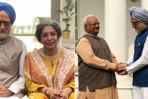 Anupam Kher introduces characters from The Accidental Prime Minister