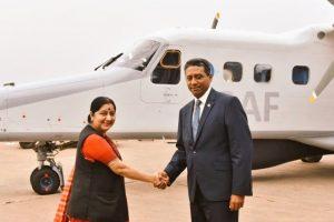 India gifts Dornier Aircraft Do-228 to Seychelles