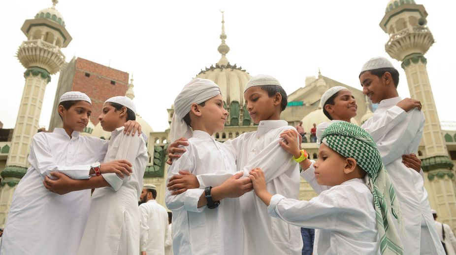 India, Islam, Eid-ul-Fitr, Mosque