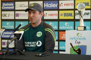 Ireland skipper Gary Wilson slams batsmen after 143-run drubbing against India