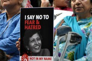 Lankesh, Bhaumik among 18 slain journalists honoured by Newseum