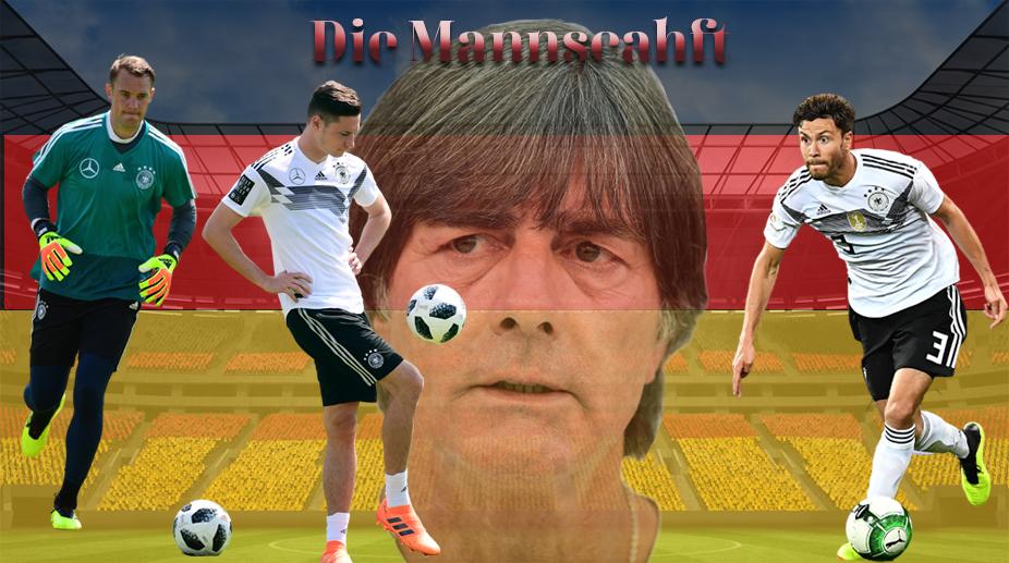 Germany Football, Germany Football Squad, 2018 FIFA World Cup, FIFA World Cup 2018, Joachim Loew, Manuel Neuer, Julian Draxler, Jonas Hector