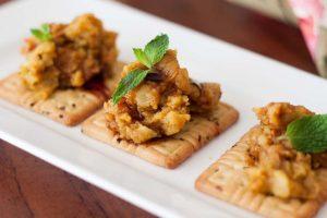 Golden potato canapes – soft inside, crunchy outside