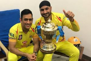 Chennai's third IPL victory reminds Harbhajan Singh of 2011 World Cup win