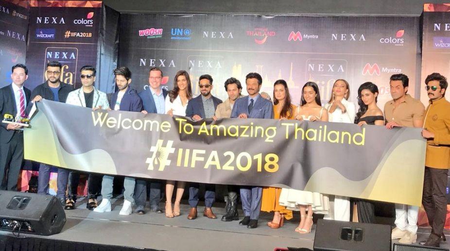IIFA 2018: Bollywood stars light up Bangkok