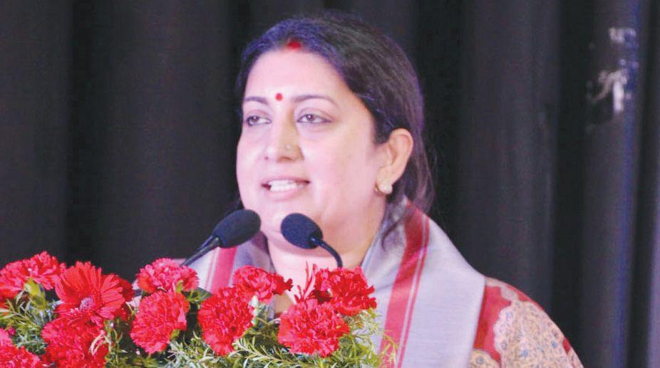 Gujarat Congress, MPLAD funds, Smriti Irani, Amit Chavda