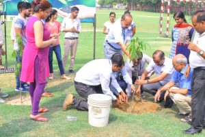 ITS Engineering College celebrates World Environment Day 2018