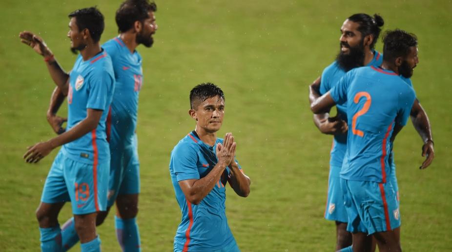 chhetri, India, Kenya, Hero cup 2018