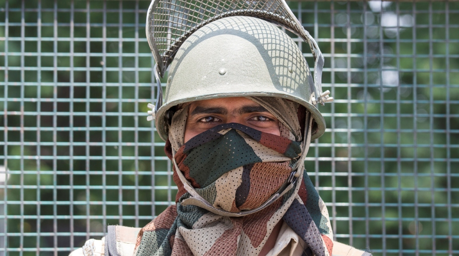 Indian Army Kashmir Soldier
