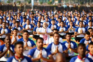 In pics: PM Narendra Modi leads from the front on International Yoga Day