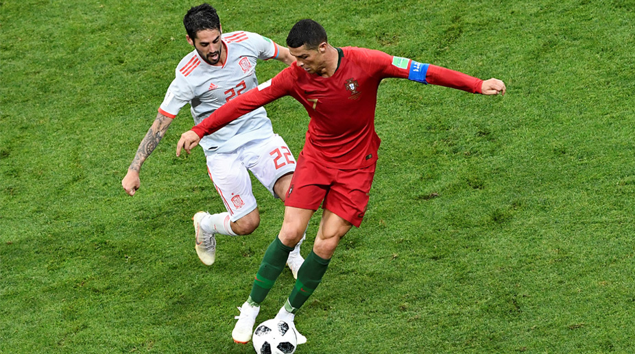 Isco, Cristiano Ronaldo, Portugal vs Spain, 2018 FIFA World Cup, FIFA World Cup 2018, Portugal Football, Spain Football