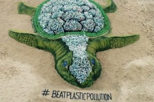 World Environment Day | Sudarsan Pattnaik has a message for all through his sand art