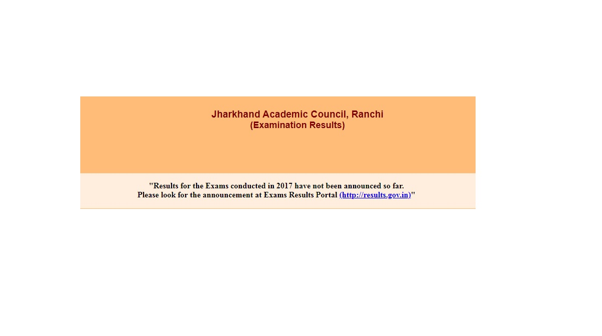 Jharkhand, JAC 12th Arts Results 2018, jac.nic.in, jharresults.nic.in