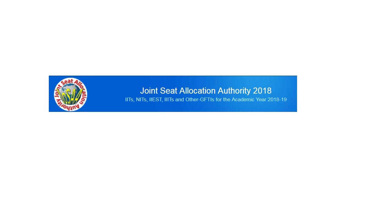 JoSAA, seat allotment, results 2018, josaa.nic.in