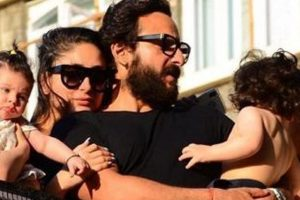 Saif Ali Khan, Kareena Kapoor enjoy quality time in London