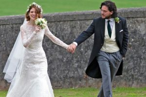 Kit Harington finds married life great