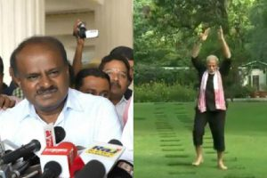 Karnataka CM Kumaraswamy rejects PM Modi's fitness challenge, see his reply