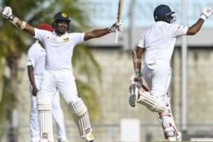 Sri Lanka beat West Indies to draw Test series