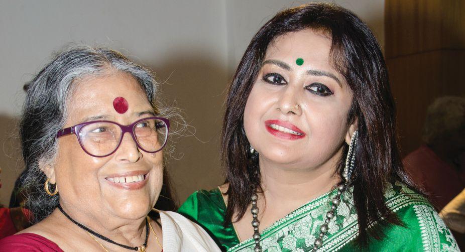 Nabaneeta Dev Sen and Riddhi Bandopadhyay