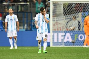 Messi feels pain as World Cup dream turns to nightmare