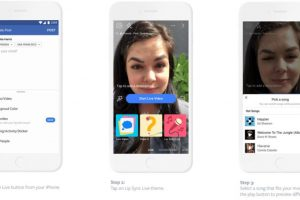 Now, Lip Sync Live on Facebook, add songs to your videos
