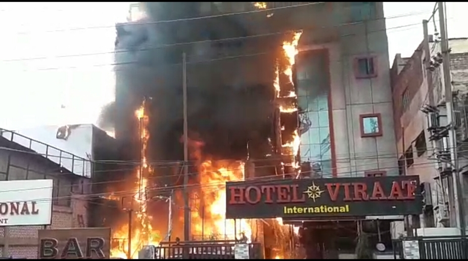 Lucknow Fire