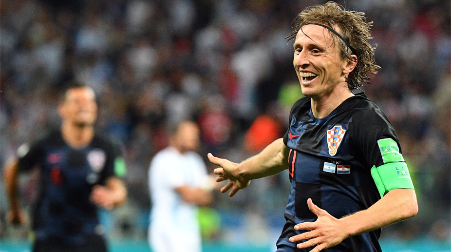 Luka Modric, Argentina vs Croatia, 2018 FIFA World Cup, FIFA World Cup 2018, Croatia Football