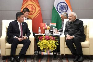 PM Modi holds bilateral talks with presidents of Kazakhstan, Kyrgyzstan and Mongolia