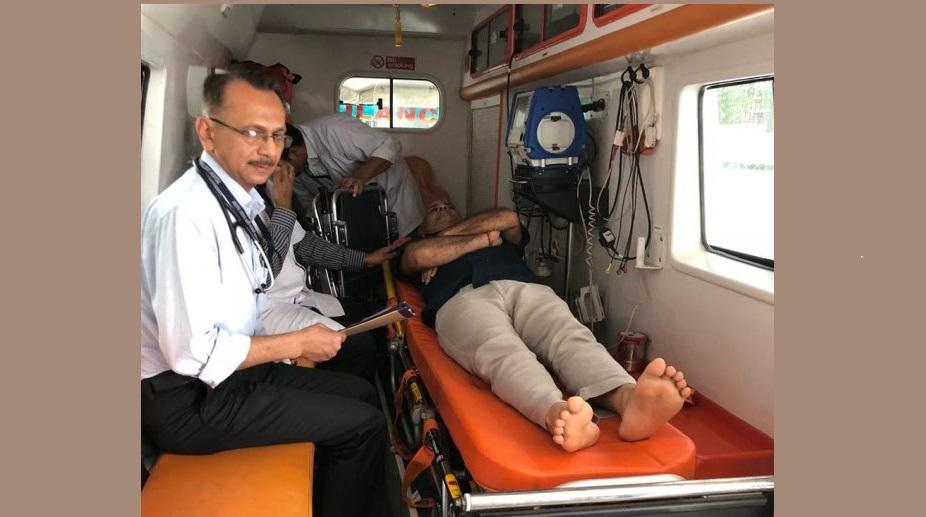Manish Sisodia hospitalised