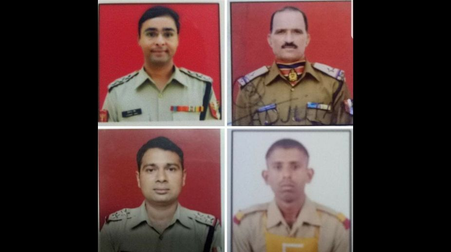 BSF men killed in mortar shelling
