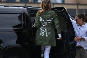 Melania Trump visits migrant shelter donning 'I really don't care do u?' coat, sparks row