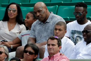 France hotshot Kylian Mbappe hangs with Mike Tyson at French Open 2018