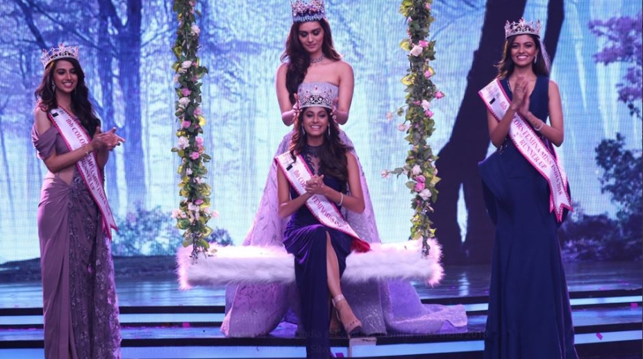 Anukreethy Vas. Femina Miss India 2018