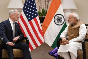 Modi, Mattis pledge to continue strong US-India strategic partnership