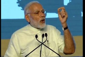 PM Modi urges youth to express themselves freely on social media