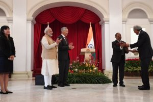 India-Singapore sign eight MoUs, including crucial naval logistics agreement