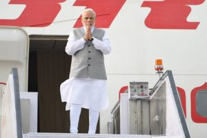 PM Modi reaches Qingdao for SCO Summit, meeting with Xi Jinping