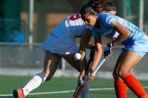 Indian Women's Hockey Team salvage a 1-1 draw against Spain in 2nd match