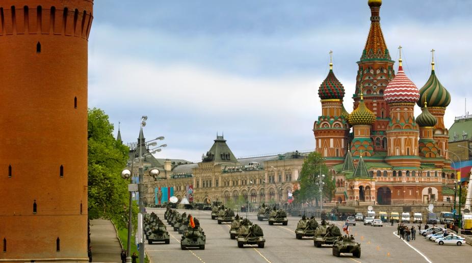 Russia Moscow NATO