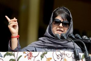 Mehbooba Mufti says 'muscular security policy' will not work in J-K