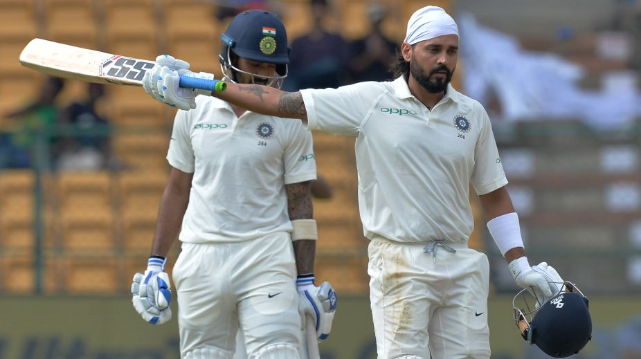 In Pictures | Top performers in first innings of IND vs AFG one-off Test