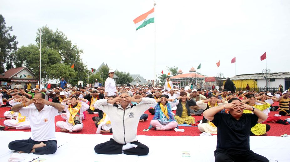 Jai Ram Thakur, Himachal CM, International Yoga Day, JP Nadda, Union Health Minister, Yoga benefits
