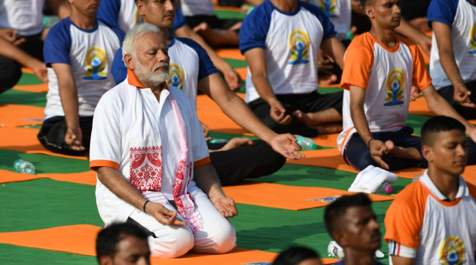 Congress, political advantage, Narendra Modi, PM Modi, International Yoga Day